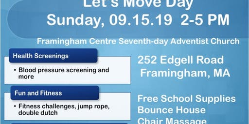 Let's Move-Wellness Fair
