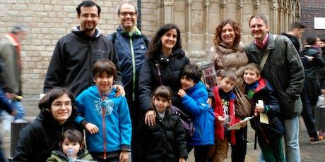 GIMCANA FAMILIAR: PATRONES DE BARCELONA, LA MERCÈ I SANTA EULÀLIA entradas