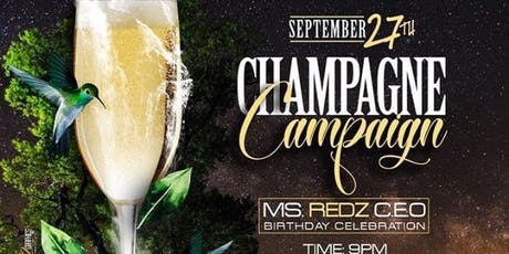 CHAMPAGNE CAMPAIGN  tickets