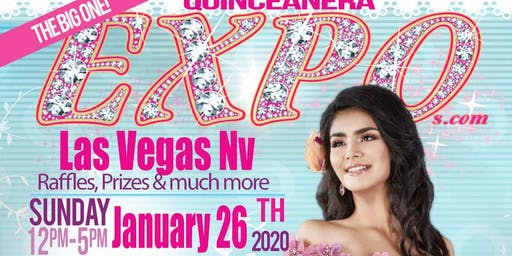 Las Vegas Quinceanera Expo January 26th, 2020 at the Eastside Cannery Casino