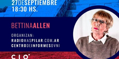 """CONGRESOS CIO """"En Pilar con Bettina Allen:Las Pirámides de Yucatan"""" entradas"""