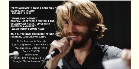 An Evening with Mike Lemme and Friends tickets