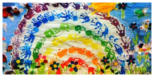 I Can Paint a Rainbow Weekly Class (18 Months-6 Years)