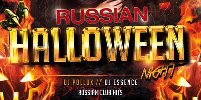 Russian Halloween - Costume & Dance Party at VERSO