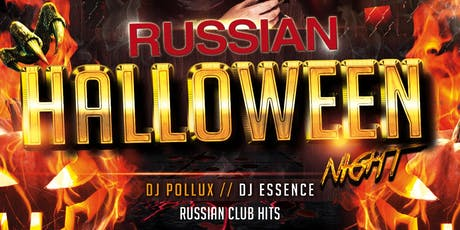 Russian Halloween - Costume & Dance Party at VERSO tickets