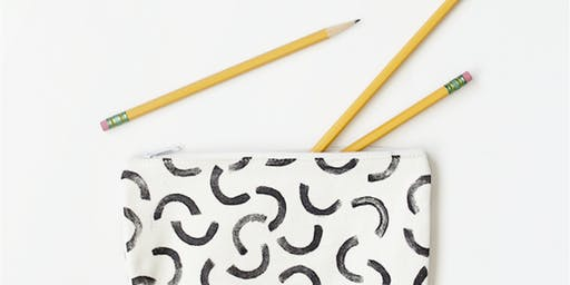 Art Class: Pencil Case Making 101  - Alderwood