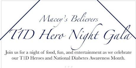 Macey's Believers T1D Hero Night Gala tickets