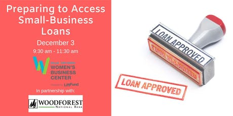 Preparing to Access Small-Business Loans tickets