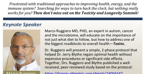 Toxicity and Longevity Summit