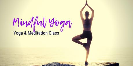 Mindful Yoga & Meditation tickets