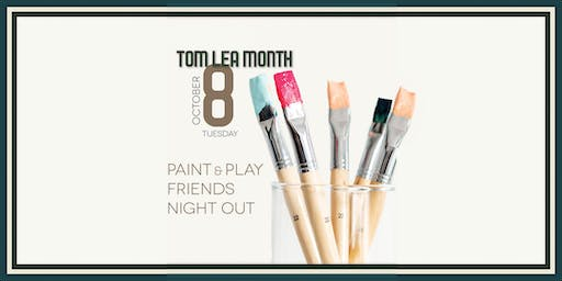 Paint & Play Friends Night Out