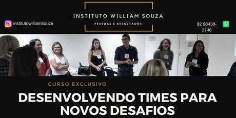 Desenvolvendo TIMES para novos desafios ingressos
