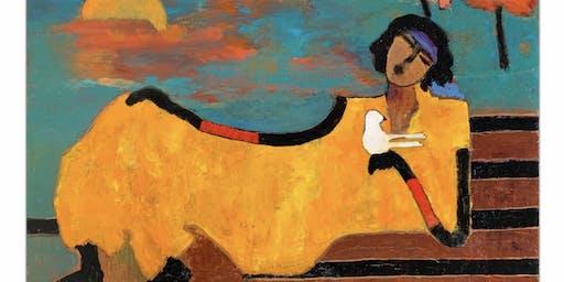 Meet Artist Goli Mahallati