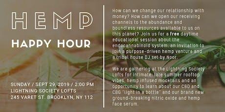 Hemp Happy Hour NYC tickets