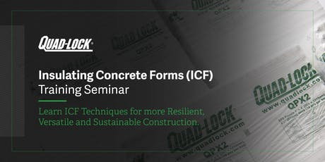 Insulating Concrete Forms (ICF) Training Seminar tickets