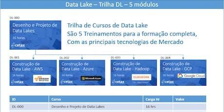 Curso de Data Lake - Desenho e Projeto - 19/10 ingressos