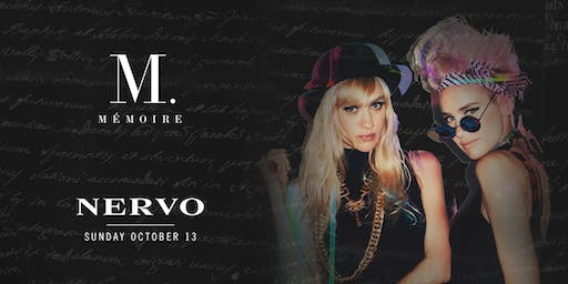 Nervo at Mémoire