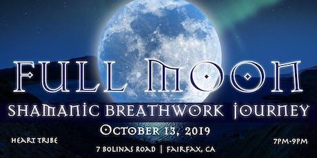 FULL MOON Shamanic Breathwork tickets