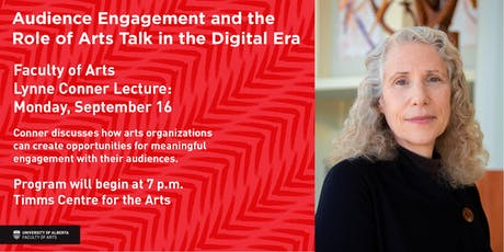 Audience Engagement and the Role of Arts Talk in the Digital Era tickets