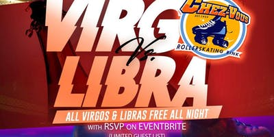 Virgo vs Libra skate party