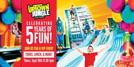 Uptown Jungle Fun Park 5th Anniversary! tickets