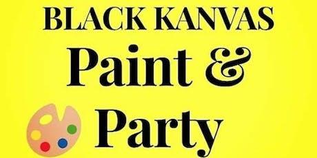 Black Kanvas Paint & Party tickets