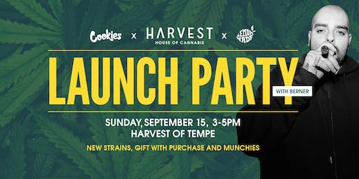 Harvest x Cookies x Lemonnade Launch Party