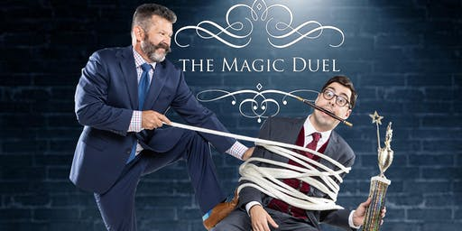 The Magic Duel Comedy Show at The Mayflower Hotel Oct. 5th, 5PM