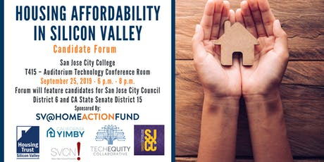 Housing Affordability in Silicon Valley: Candidate Forum Series tickets