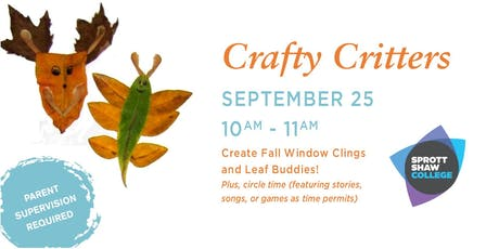Crafty Critters tickets