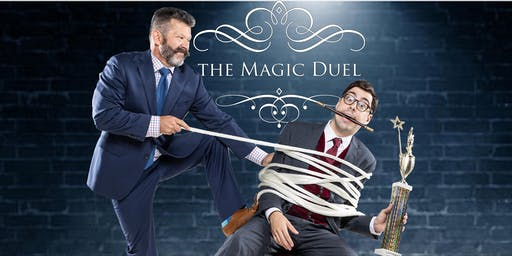 The Magic Duel Comedy Show at The Mayflower Hotel Sat. Oct. 12 at 5PM