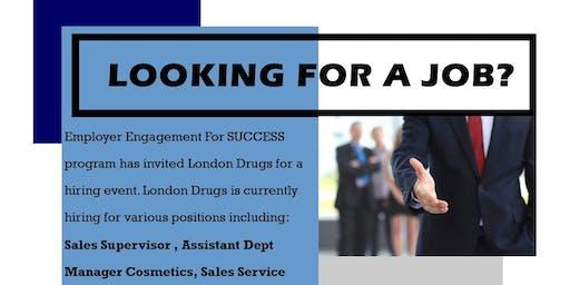 Job Fair with London Drugs