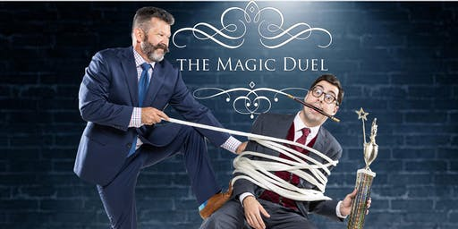 The Magic Duel Comedy Show at The Mayflower Hotel Sat. Oct. 12 at 8PM