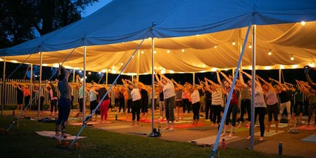 Yoga + Autumn Sangria at the Boathouse Forest Park  tickets