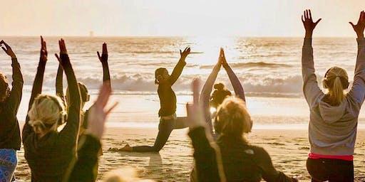 FULL MOON Sunset Yoga with Emily!