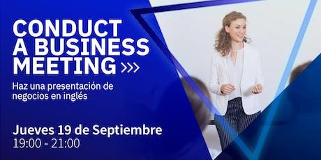 ¡Haz un presentación de negocios exitosa en inglés! (Business Meetings) entradas