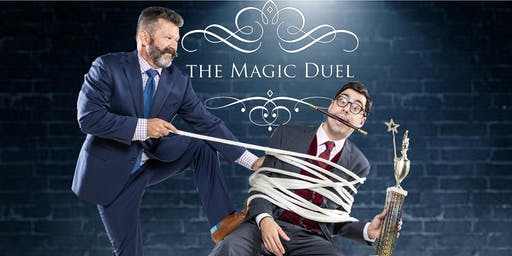 10/26 8PM The Magic Duel Comedy Show at The Mayflower Hotel