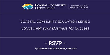 Structuring your Business for Success - Business and Tax Strategies tickets