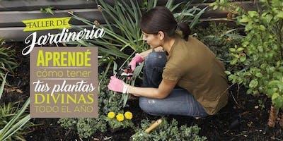 """Taller Jardinería. """"Cómo cuidar tus plantas y espacios verdes"""". Momentos Creativos setiembre 2019"""