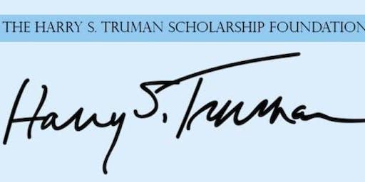 Truman Scholarship Writing Workshop