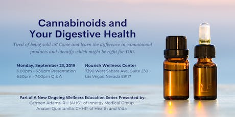 Cannabinoids and Your Digestive Health tickets