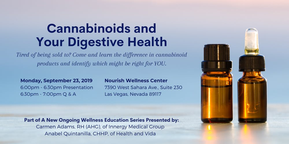 Cannabinoids and Your Digestive Health Tickets, Mon, Sep 23