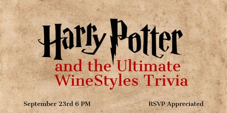 Harry Potter & the Ultimate WineStyles Trivia tickets