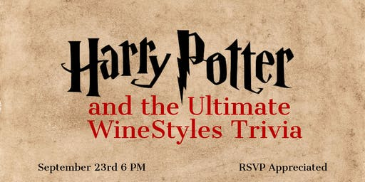 Harry Potter & the Ultimate WineStyles Trivia