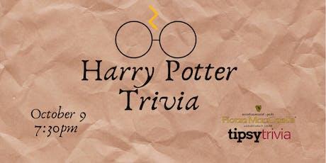 Harry Potter Movie Trivia - Oct 9, 7:30pm - Fionn MacCool's Kitchener tickets