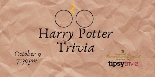 Harry Potter Movie Trivia - Oct 9, 7:30pm - Fionn MacCool's Kitchener