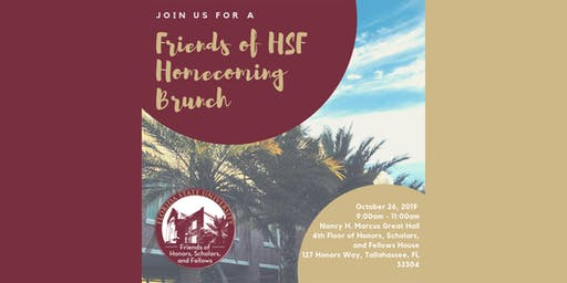FSU Friends of HSF Homecoming Brunch