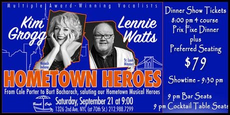 Kim Grogg and Lennie Watts Home Town Heroes  tickets
