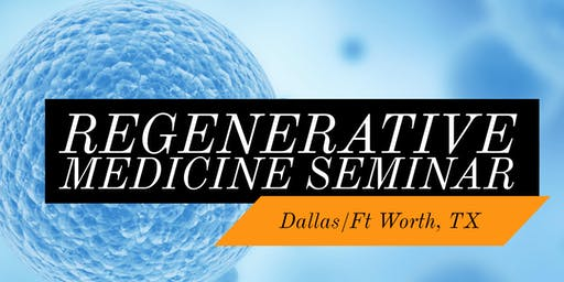 FREE Stem Cell Dinner Seminar for Pain Relief- Westlake/DFW, TX