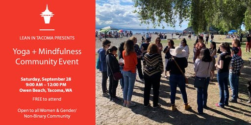 Lean In Tacoma: Yoga + Mindfulness Community Event
